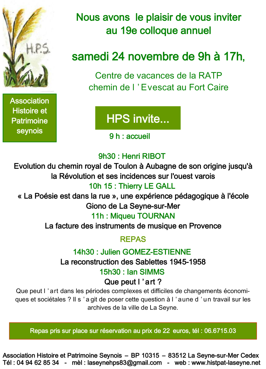 24 Novembre 2018 La Seyne Sur Mer HPS
